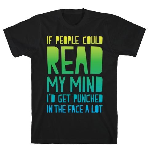 Read My Mind Mens T-Shirt