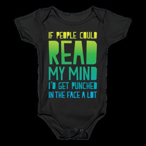 Read My Mind Baby Onesy