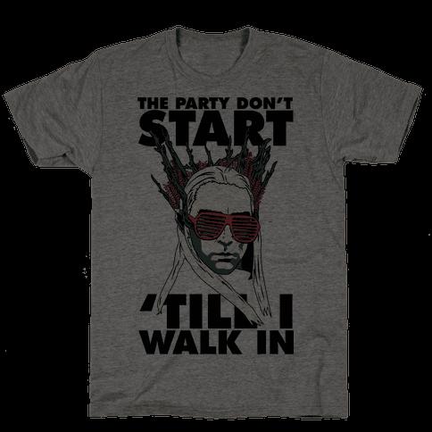 Thranduil Elvish Lord of the Party Mens T-Shirt