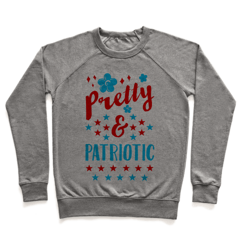 Pretty and Patriotic Pullover