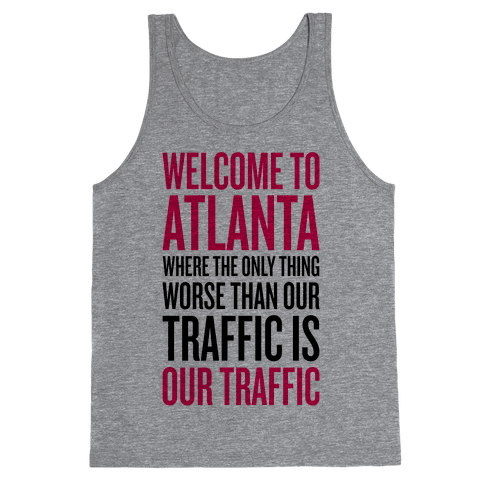 Atlanta Traffic Tank Top