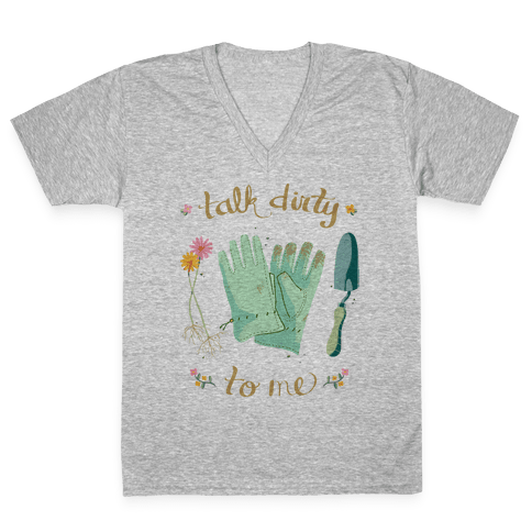 Talk Dirty to Me V-Neck Tee Shirt