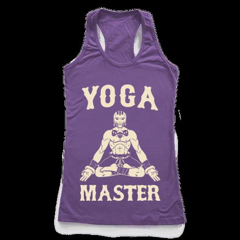 Yoga Master Dhalsim Racerback Tank Top