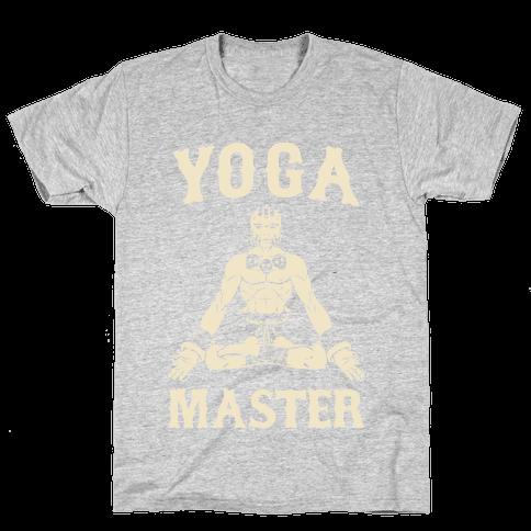 Yoga Master Dhalsim Mens T-Shirt
