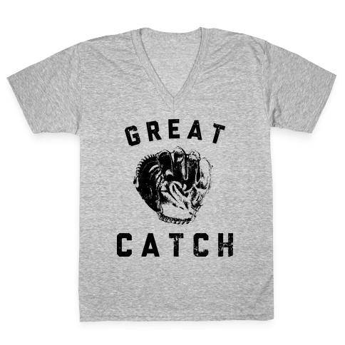 Great Catch V-Neck Tee Shirt