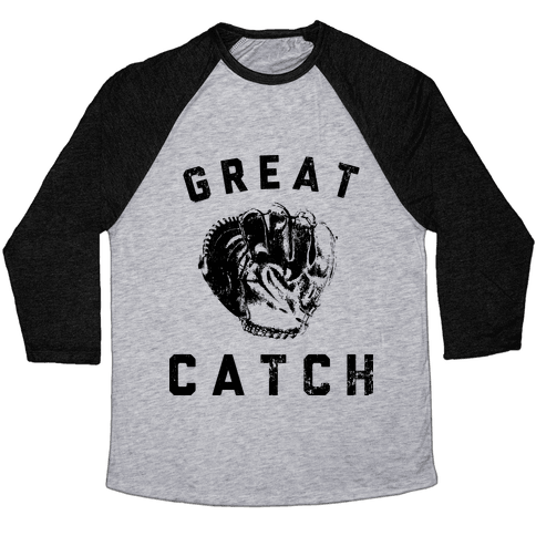 Great Catch Baseball Tee