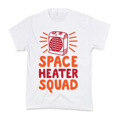 Space Heater Squad Kids T-Shirt