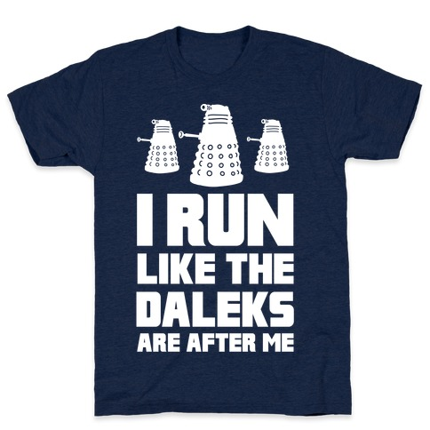 I Run Like The Daleks Are After Me  Mens T-Shirt