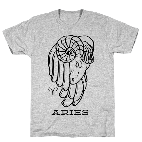 Aries Mens T-Shirt