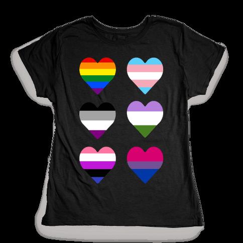 It's All Love Womens T-Shirt