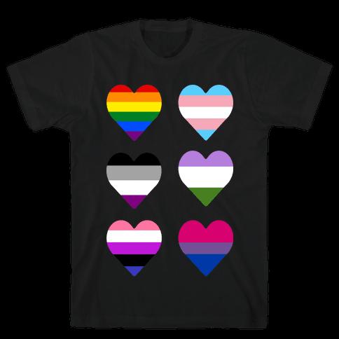 It's All Love Mens T-Shirt