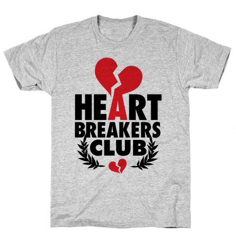 Heart Breakers Club Mens T-Shirt