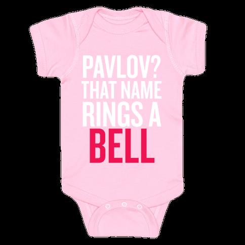 Pavlov? Baby Onesy