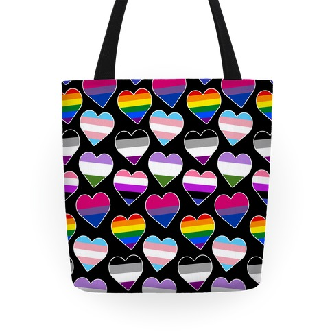 It's All Love Pattern Tote