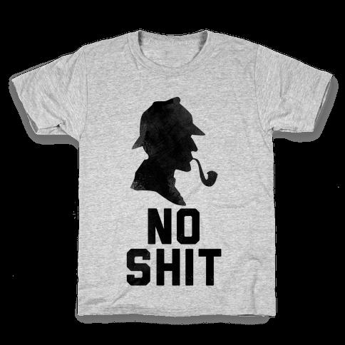 No Shit, Sherlock Kids T-Shirt