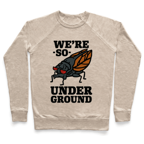 Cicadas Are So Underground Pullover