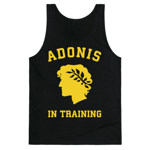 Adonis In Training Tank Top