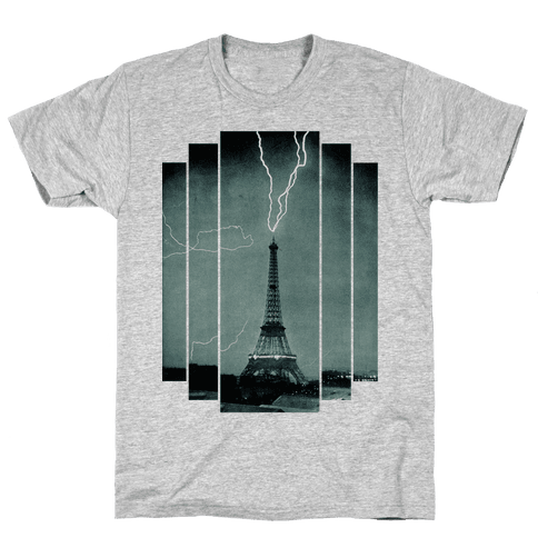 Lightning Strike Mens T-Shirt