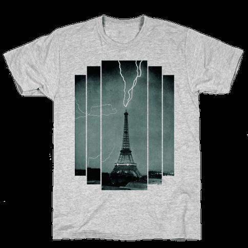 Lightning Strike Mens T-Shirt