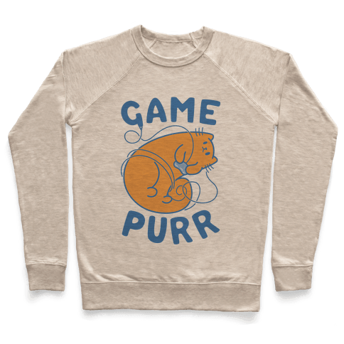 Game Purr Pullover