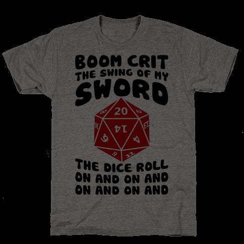 Boom, Crit, The Swing Of My Sword