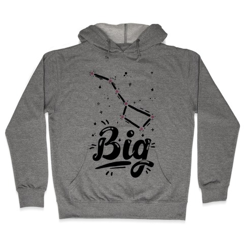 Dippers (Big Dipper) Hooded Sweatshirt