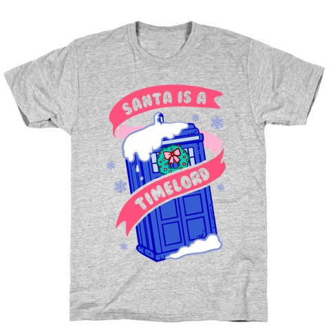 Santa is A Timelord T-Shirt