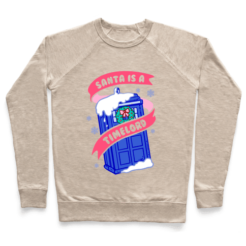 Santa is A Timelord Pullover