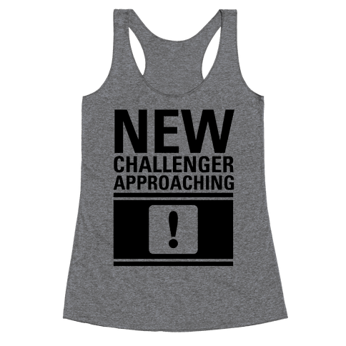 New Challenger Approaching Racerback Tank Top
