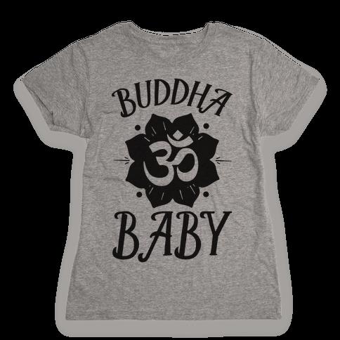 Buddha Baby Womens T-Shirt