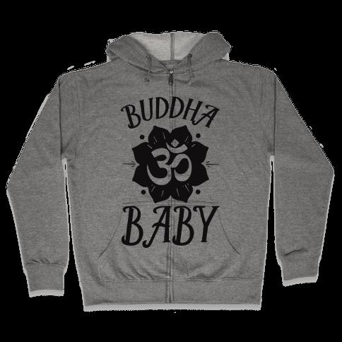 Buddha Baby Zip Hoodie