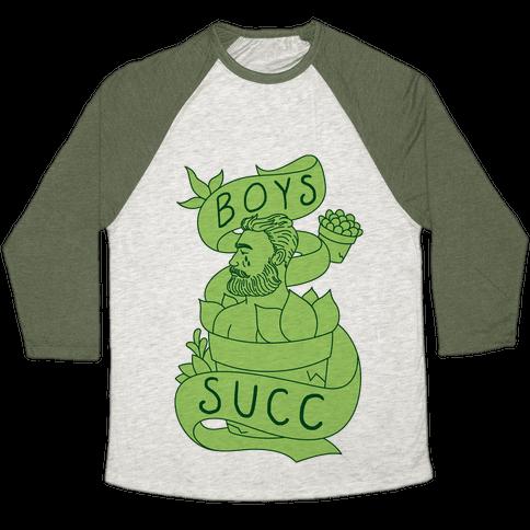 Boys Succ Baseball Tee