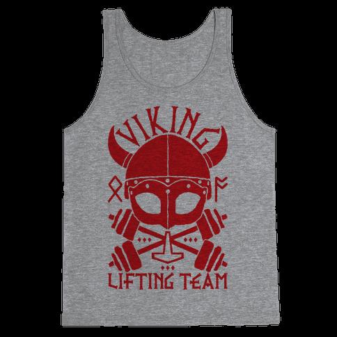 Viking Lifting Team Tank Top