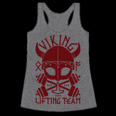 Viking Lifting Team Racerback Tank Top