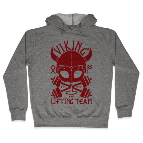 Viking Lifting Team Hooded Sweatshirt