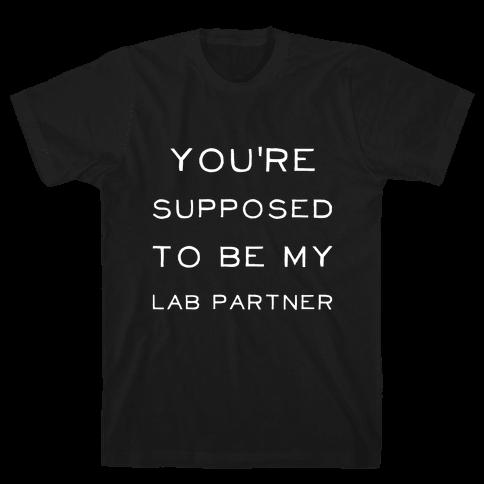 MY Lab Partner Mens T-Shirt