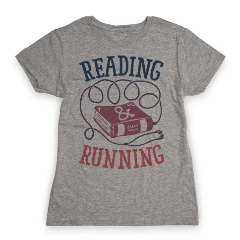 Reading & Running Womens T-Shirt