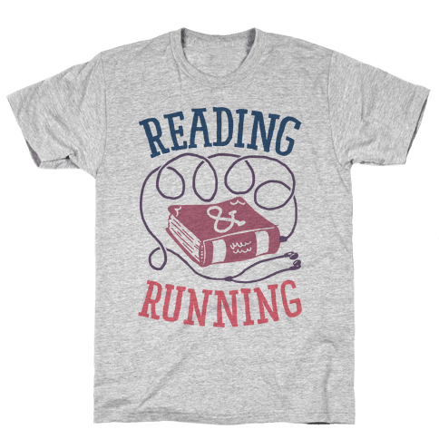 Reading & Running Mens T-Shirt
