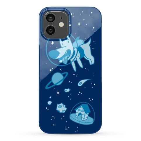 Blast Off Space Dog Phone Case
