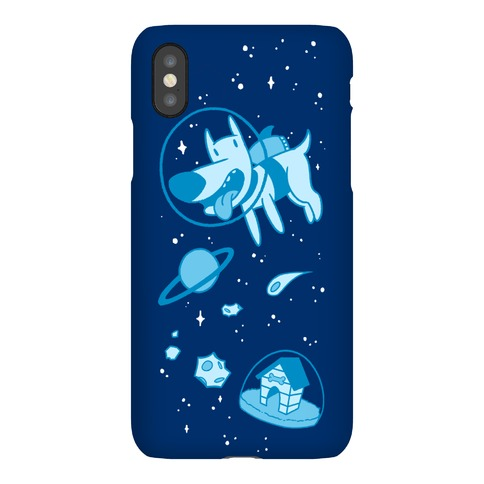 Blast Off Space Dog Phone Case