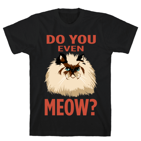 Do You Even Meow? Bro? (dark) Mens T-Shirt