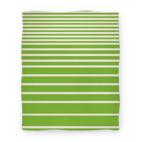 Green Stripe Blanket Blanket