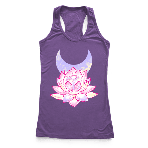 Silver Imperium Crystal Racerback Tank Top