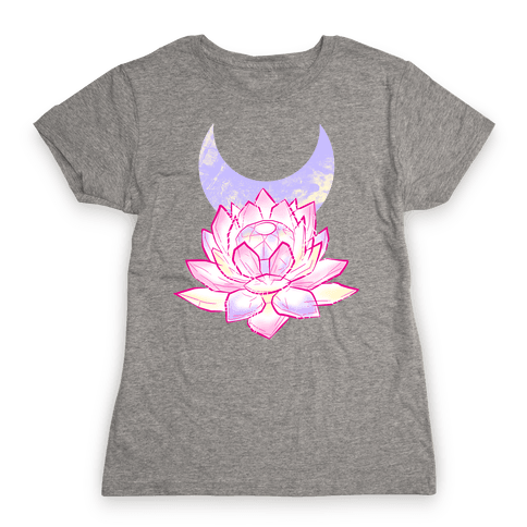 Silver Imperium Crystal Womens T-Shirt