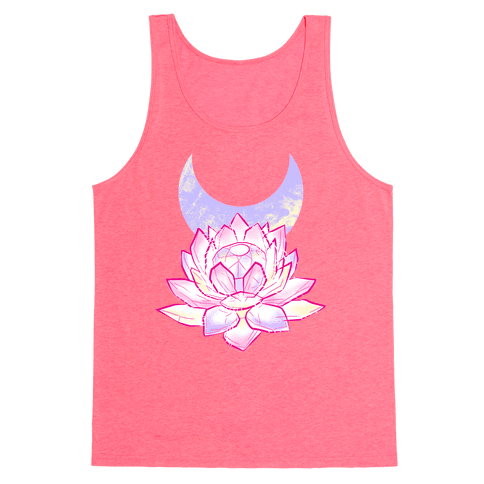 Silver Imperium Crystal Tank Top