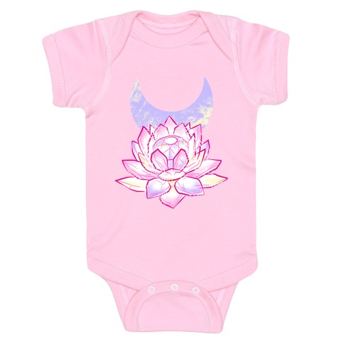 Silver Imperium Crystal Baby Onesy