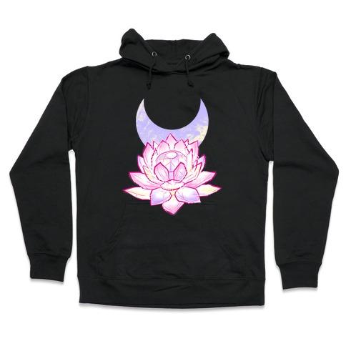Silver Imperium Crystal Hooded Sweatshirt