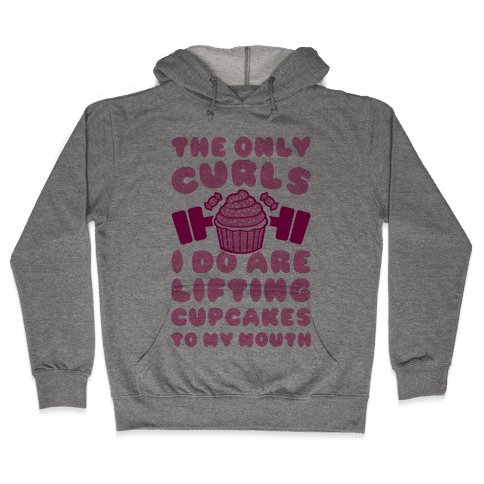 Cupcake Curls Hooded Sweatshirt