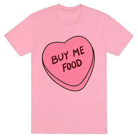 Candy Hearts: Buy Me Food