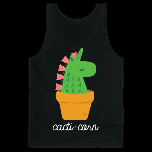 Cacti-corn Tank Top